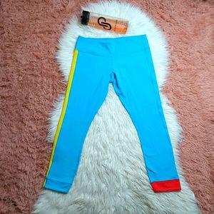 Lululemon Athletican Bold Amped Crop Legging